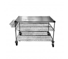 Drive table 91cm, stainless...