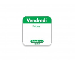 """Vendredi/Friday"" labels -..."