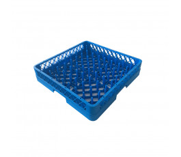 Dishwasher rack for plates