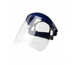 Head gear with face screen