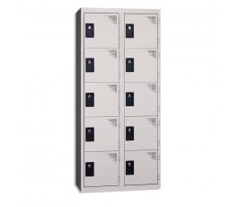 2-column, 5-unit locker