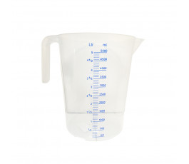 5 liters graduated pitcher...