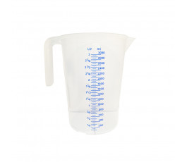 3 liters graduated pitcher...